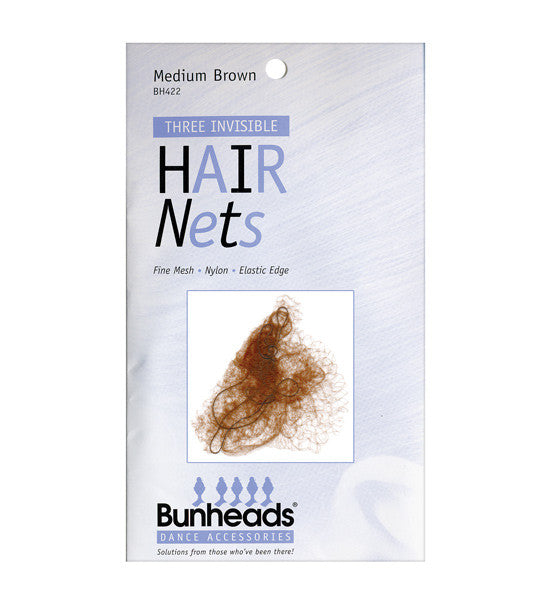 BH422 Medium Brown Hairnets