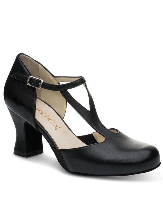 "829W Charlotte 2.5"" T-Strap Character Shoe"
