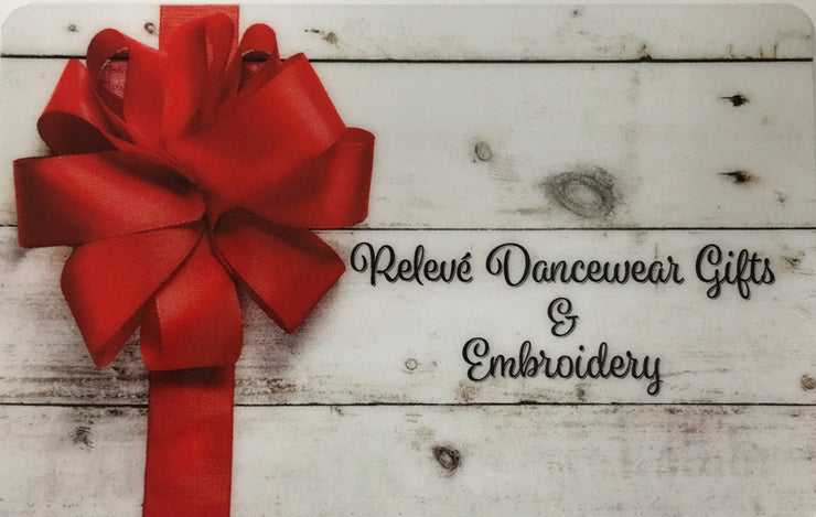 Gift Card- Red Bow