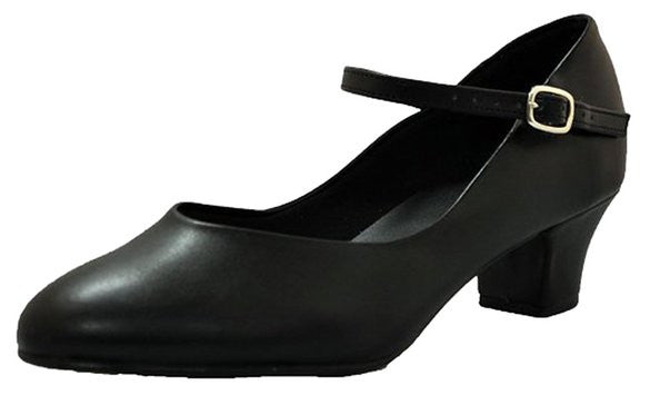 "CH50 1.5"" Character Shoe BLACK"