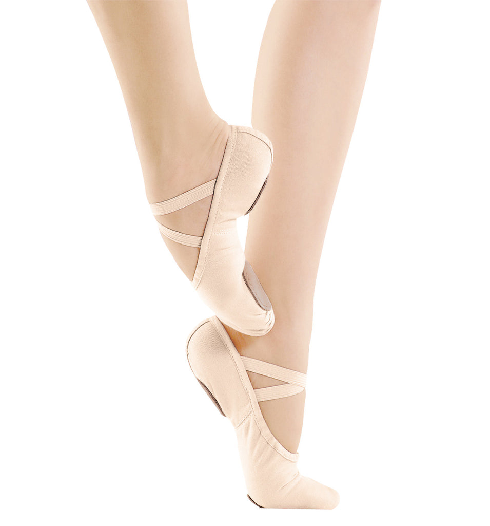 SD-16 Elastic Split Sole Canvas (Light Pink)