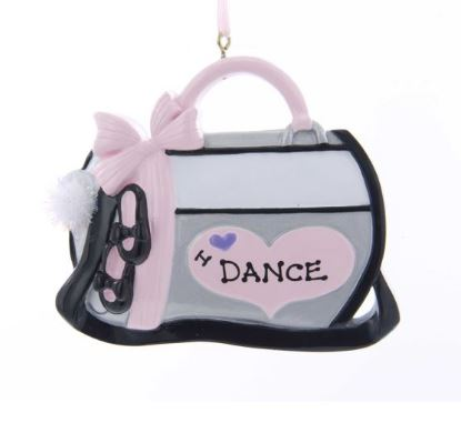 W8400 Dance Bag Ornament