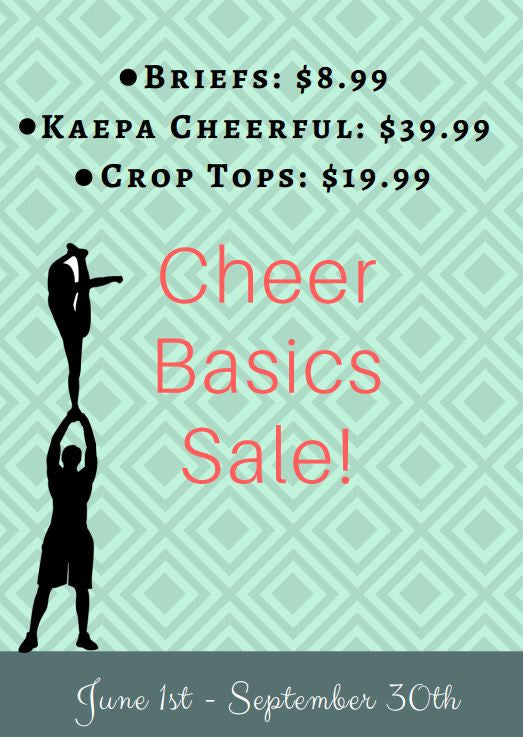 Cheer Basics Sale
