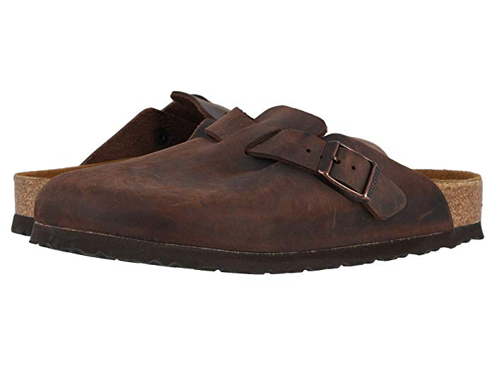 Boston Oiled Leather - Soft Footbed