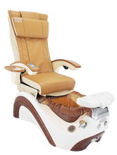 Load image into Gallery viewer, LUX MODEL CT200 PEDICURE CHAIR - Cappuccino Color