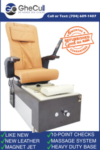 Pro Refurbished Pedicure Spa Chair - Call or text us for shipping quote 704 490 3934
