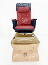 Load image into Gallery viewer, T4 Human Touch - 4 in stock - Good Conditions + New armrest + Original Leather - Call or text us for shipping quote 704 490 3934