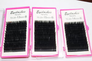 High Quality Eyelashes for Eyelashes Extensions