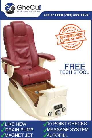3 in stock Lexor Infinity Pedicure Chair Original Leather + Drain Pump