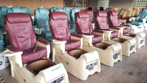 Lexor Infinity Pedicure Chair Original Leather + Eco-Magnet Jet + Tru-Touch Massage  - Call or text us for shipping quote 704 490 3934