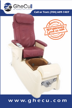 Load image into Gallery viewer, Lexor Infinity Pedicure Chair Original Leather + Eco-Magnet Jet + Tru-Touch Massage  - Call or text us for shipping quote 704 490 3934