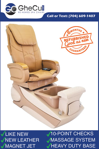 Re-Newed LURACO iRobotics Pedicure Spa Chair with New Leather