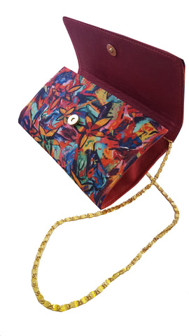 The Baguette Red Handbag Madison