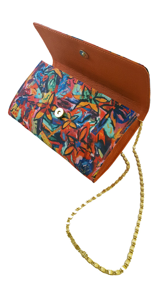 The Baguette Orange Handbag Madison