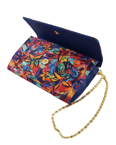 The Baguette Royal Blue Handbag Madison