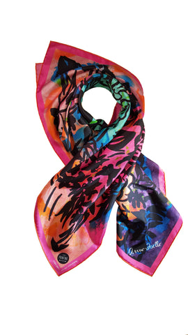 "Le Foulard ""West Clay"" (Limited Edition for the Printing Museum)"