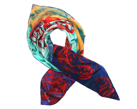 Le Foulard 'Red Roses' (Limited Edition)