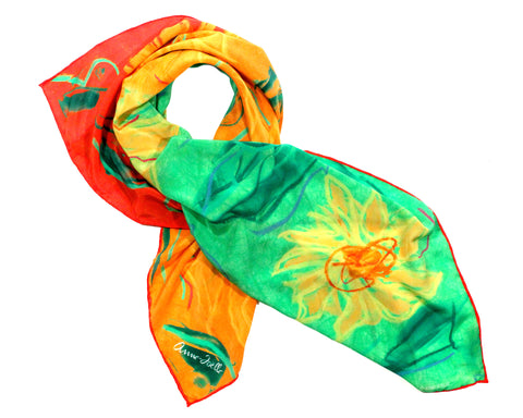 Le Foulard 'Sunflowers' (Limited Edition)