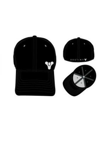 DESTINY - Sonic Weld Flat Embroidered Flex Fit Cap Black