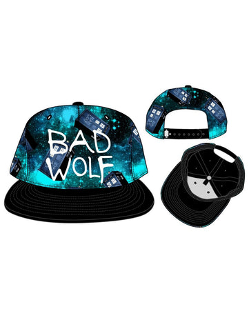 DR WHO - Bad Wolf - Space Tardis Snapback