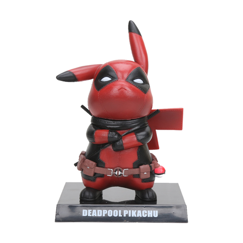 Deadpool Pikachu Figurine