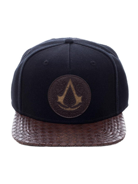 ASSASSINS CREED - BLACK SNAPBACK CAP