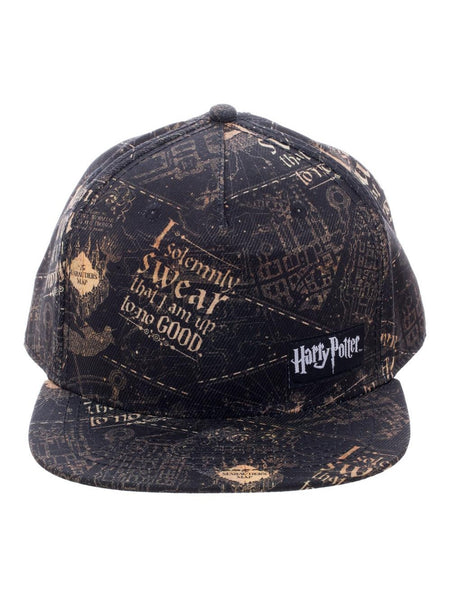 HARRY POTTER - Marauder's Map Snapback