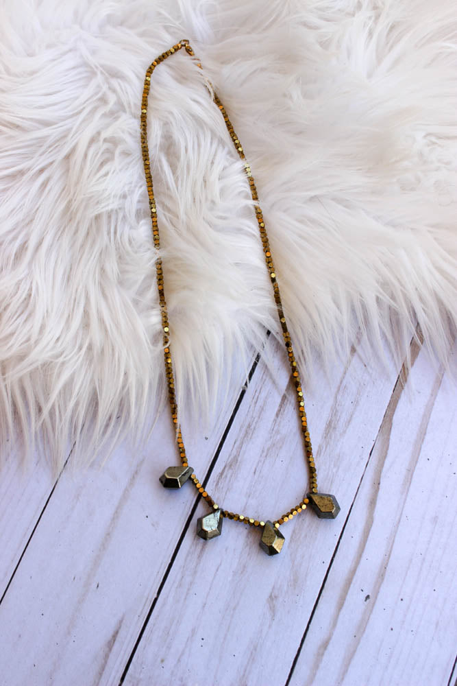 Push The Envelope Necklace