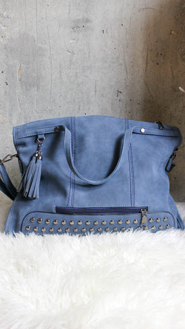 Rock All Night Purse - Blue