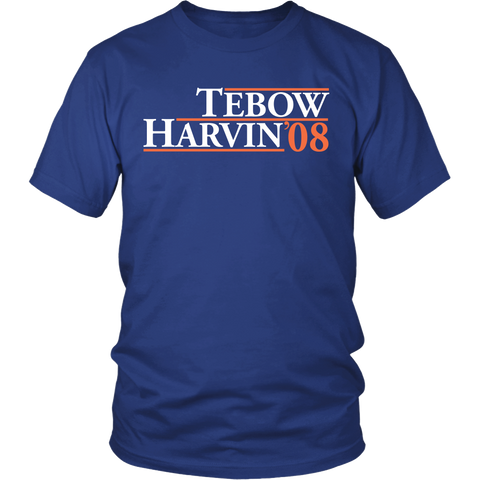 Tebow Harvin 08 Shirt