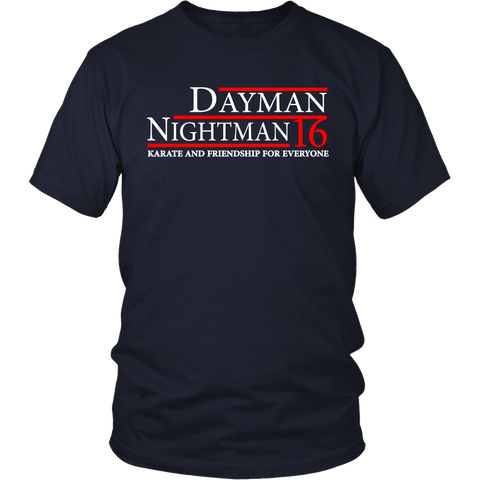 "Dayman Nightman ""Karate and Friendship"" Shirt"