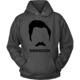 Ron Swanson Stache Shirt