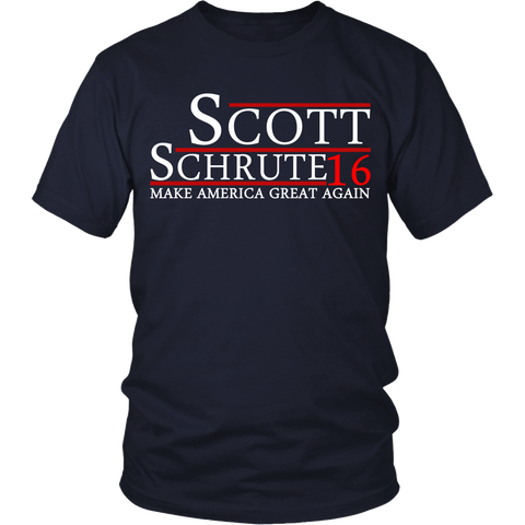 Scott Schrute Election Shirt