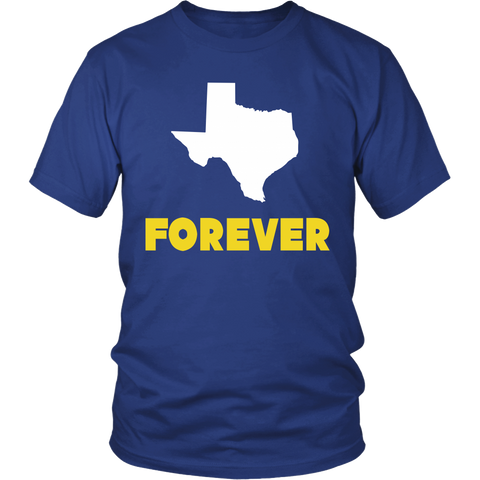 Texas Forever Shirt- Blue