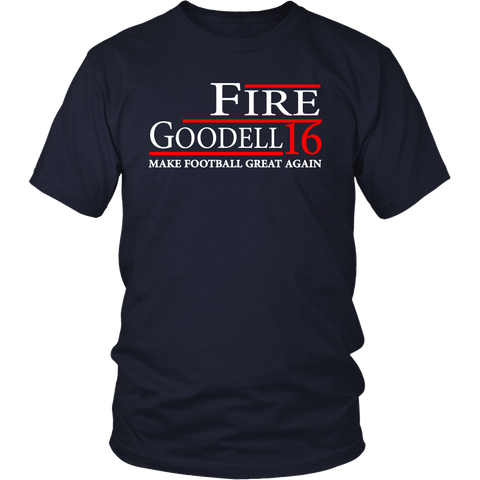 "Fire Goodell ""Make Football Great Again"" Shirt"