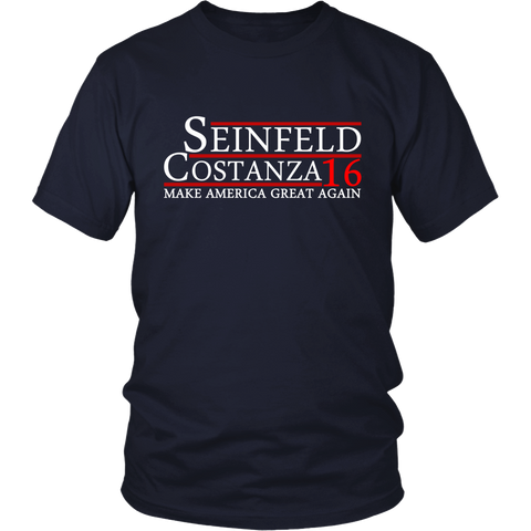 Seinfeld/Costanza 2016 - Shirts+Hoodies