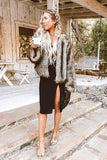 "THE ""AMY"" FAUX CAMEL FUR"