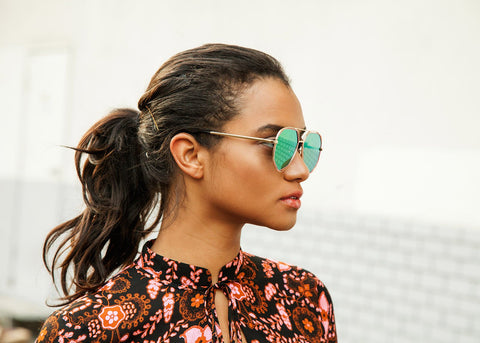 THE MADDIE IN GREEN SUNNIES