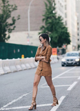 "THE ""TATYANA"" FAUX SUEDE SHIRT DRESS"