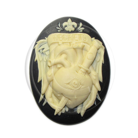 Regrets Cameo - 40x30mm - (TU Original Design)