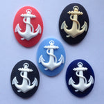 Anchor Cameo - 40x30mm - Sold individually