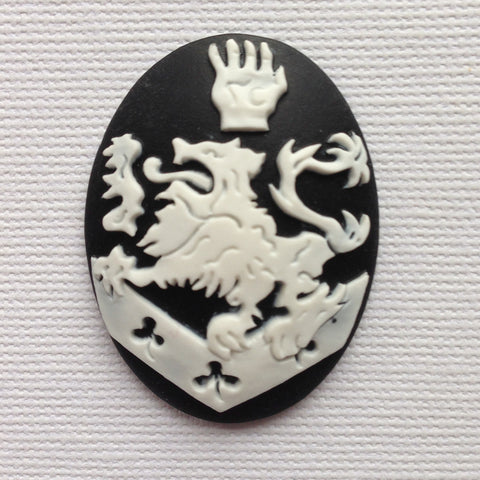Twilight Cullen's Crest Cameo - 40x30mm - (TU Original Design)