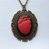 Anatomy Anatomical Heart Cameo - 40x30mm - (TU Original Design)