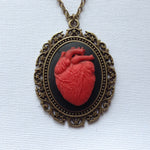 Anatomy Anatomical Heart Cameo - 25x18mm - (TU Original Design)