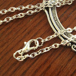"Chain for pendants - 24"" with lobster closure Rolo"