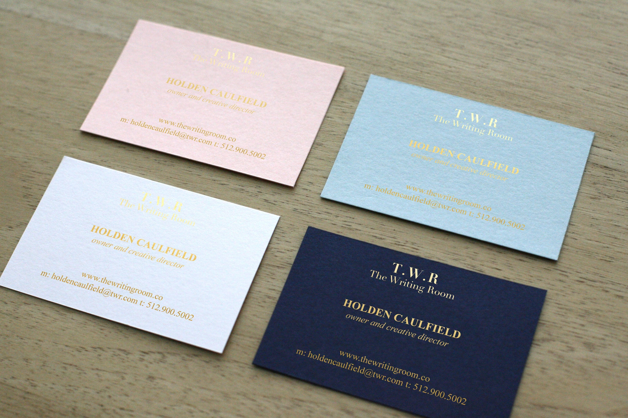 colors business cards