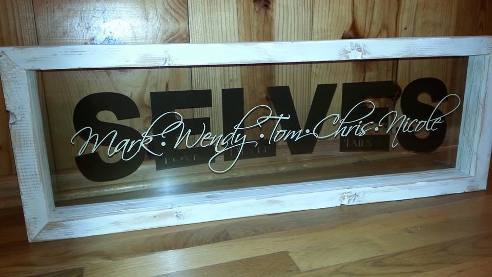 Vintage Personalized Family Frame – Carter\'s Creativity Personalized ...
