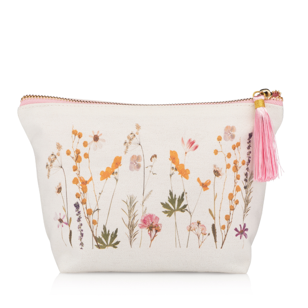 Flower Print Canvas Bag - Hello Cider