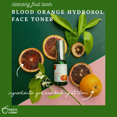 Blood Orange Hydrosol Toner