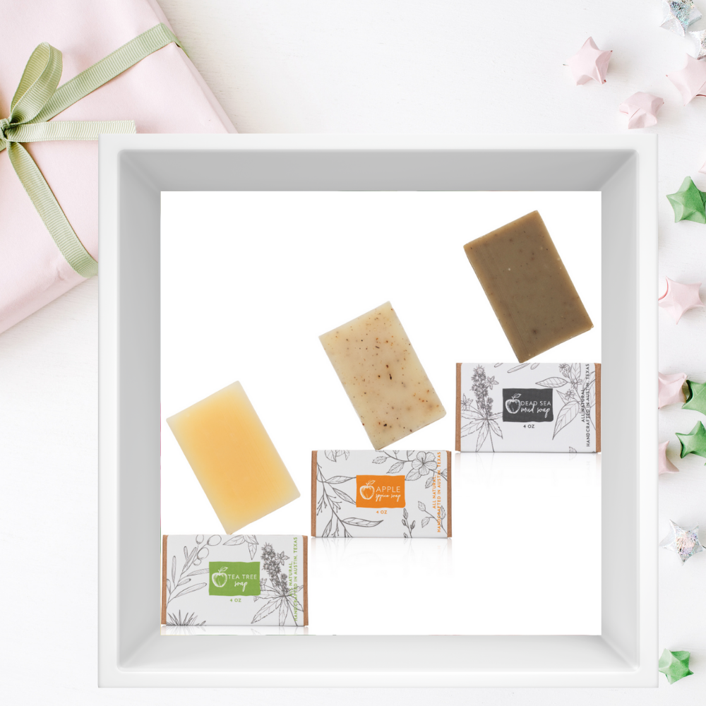 Organic Soap Set of Three - Hello Cider